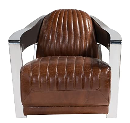 Astonishing Amazon Com Chair Sofa Sofa In Vintage Leather Stainless Creativecarmelina Interior Chair Design Creativecarmelinacom