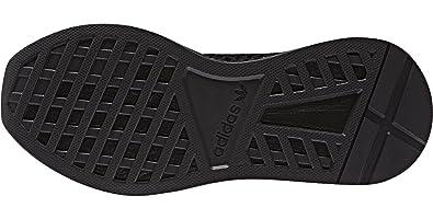 sports shoes 71696 18dd9 adidas Unisex-Kinder Deerupt Runner J Gymnastikschuhe Schwarz Core  BlackFTWR White, 35.5