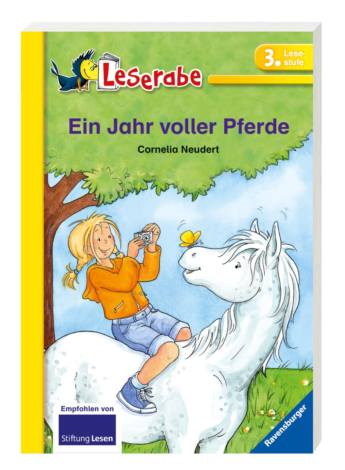 Ein Jahr Voller Pferde  Leserabe   Schulausgabe In Broschur
