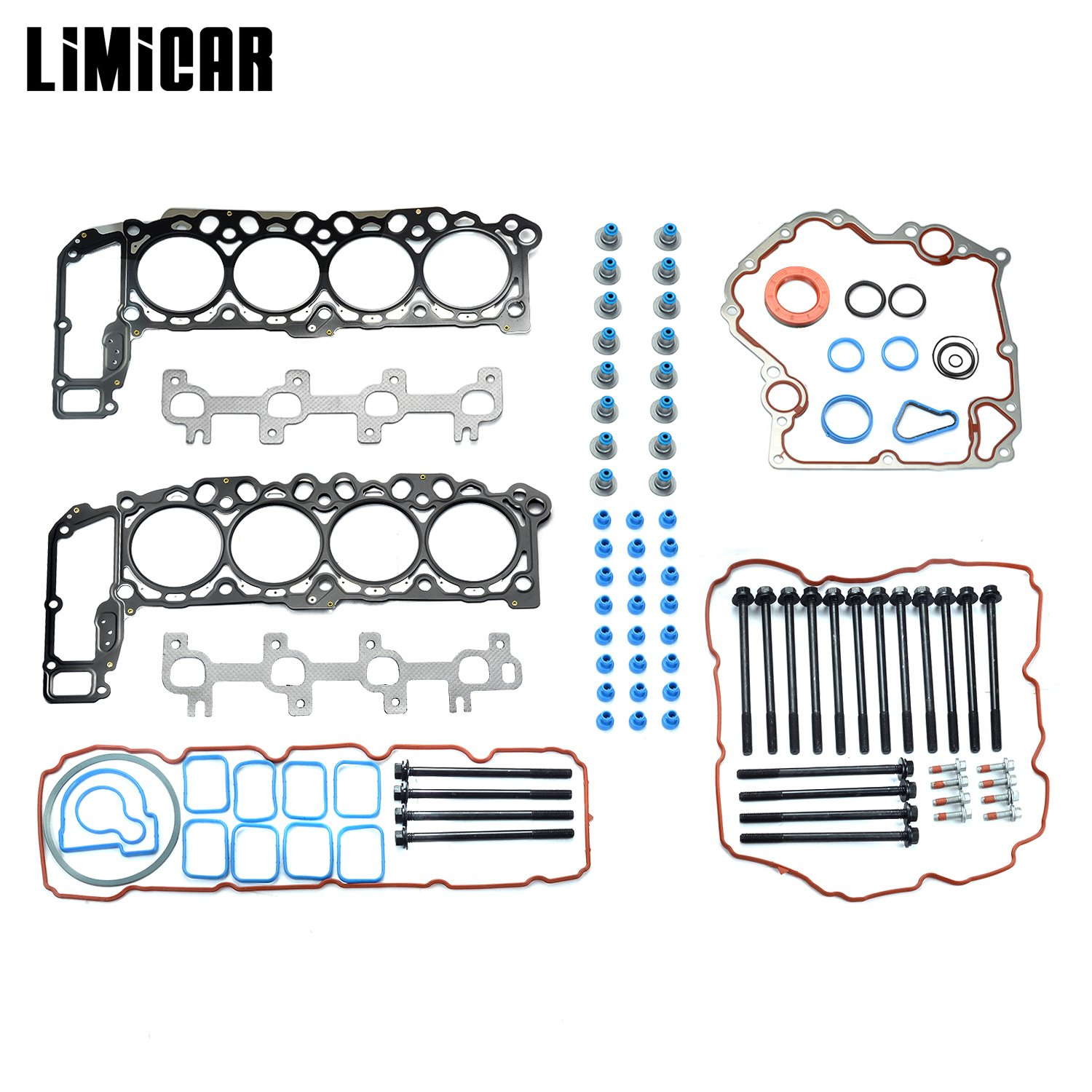 Limicar Valve Cover Gasket Grommets Kit For 2000 2001 2002 2003 Jeep Cherokee Wiring Harness Dodge Dakota Durango