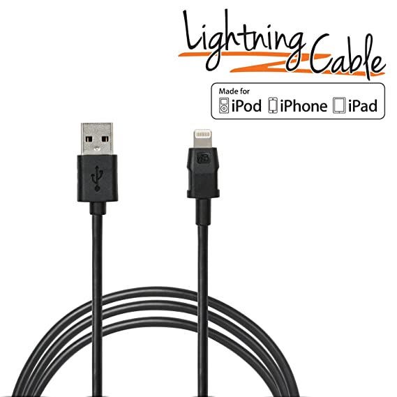 Amazon.com: iBOLT Cargen Sync Cable Lightning IBA-41400 MFI ...