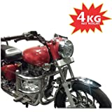 Asco 95001 Royal Enfield Heavy Duty 100% Stainless Steel Motor Cycle Crash Guard/Leg Guard