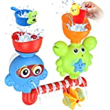 Amazon Com Boon Building Bath Pipes Toy Set Set Of 5 Baby