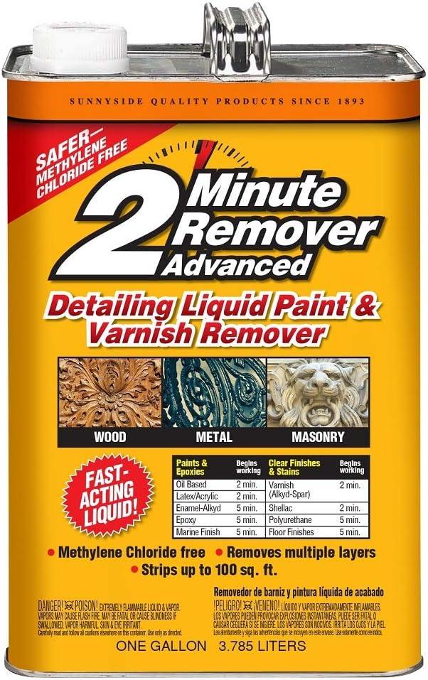 Sunnyside Corporation 635G1 2 Minute Remover Advanced Liquid, Gallon, 2 Pack