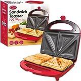 Quest Sandwich Maker, 700 Watt, Red