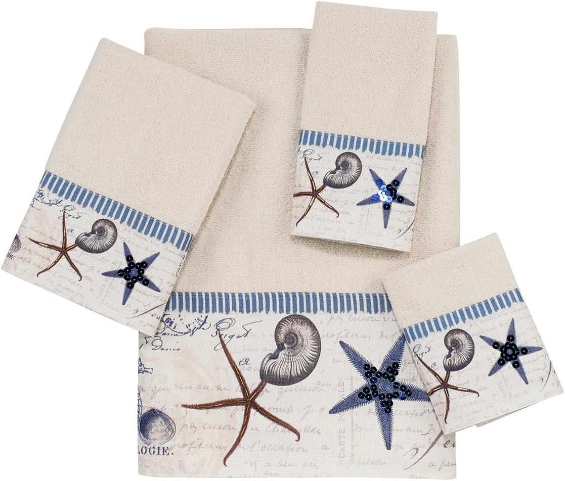 Avanti Linens Embellished 4-Piece Decorative Towel Set