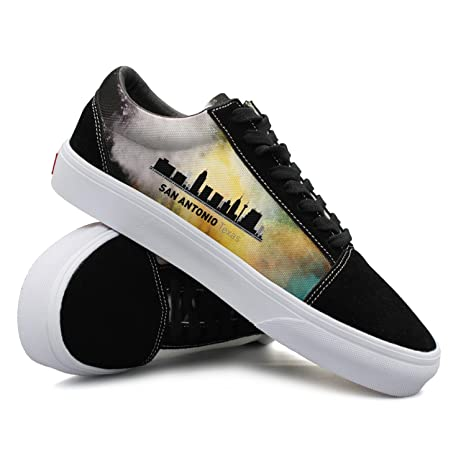 aa95c90a526ba Amazon.com  Mens San Antonio Texas Fashionable Skate Shoes Men  Sports    Outdoors