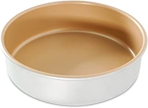 Nordic Ware Round Cake Pan, 9 Inch, Silver