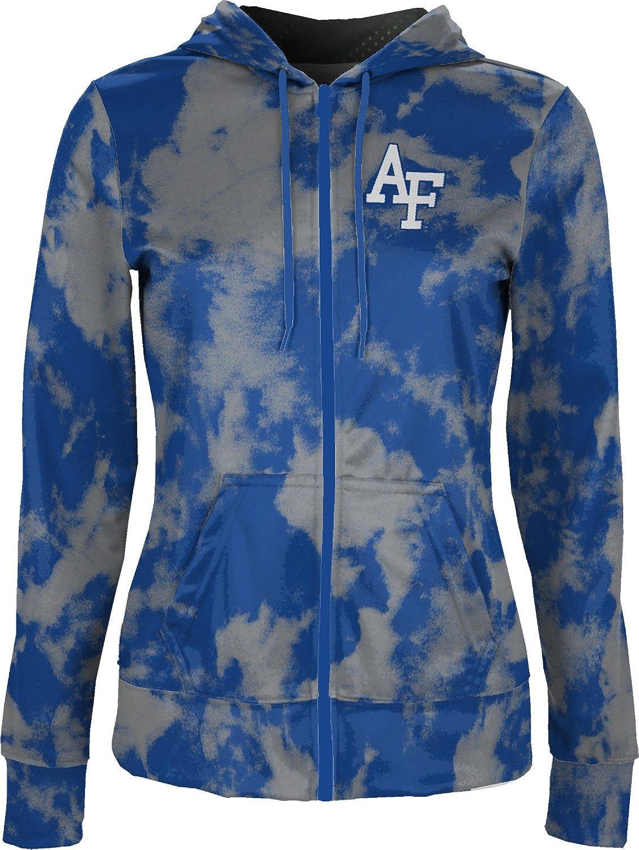 Air Force Academy Girls Zipper Hoodie ProSphere U.S School Spirit Sweatshirt Ombre