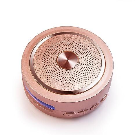 GOLDEN FIELD D20 Inalámbrico Portátil Bluetooth 4.2 Altavoz con Mega Bass, LED de Varios Colores, ...