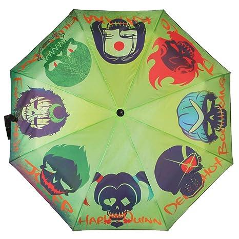 Oficial DC suicidio Escuadrón calaveras plegable paraguas - mujeres damas accesorios