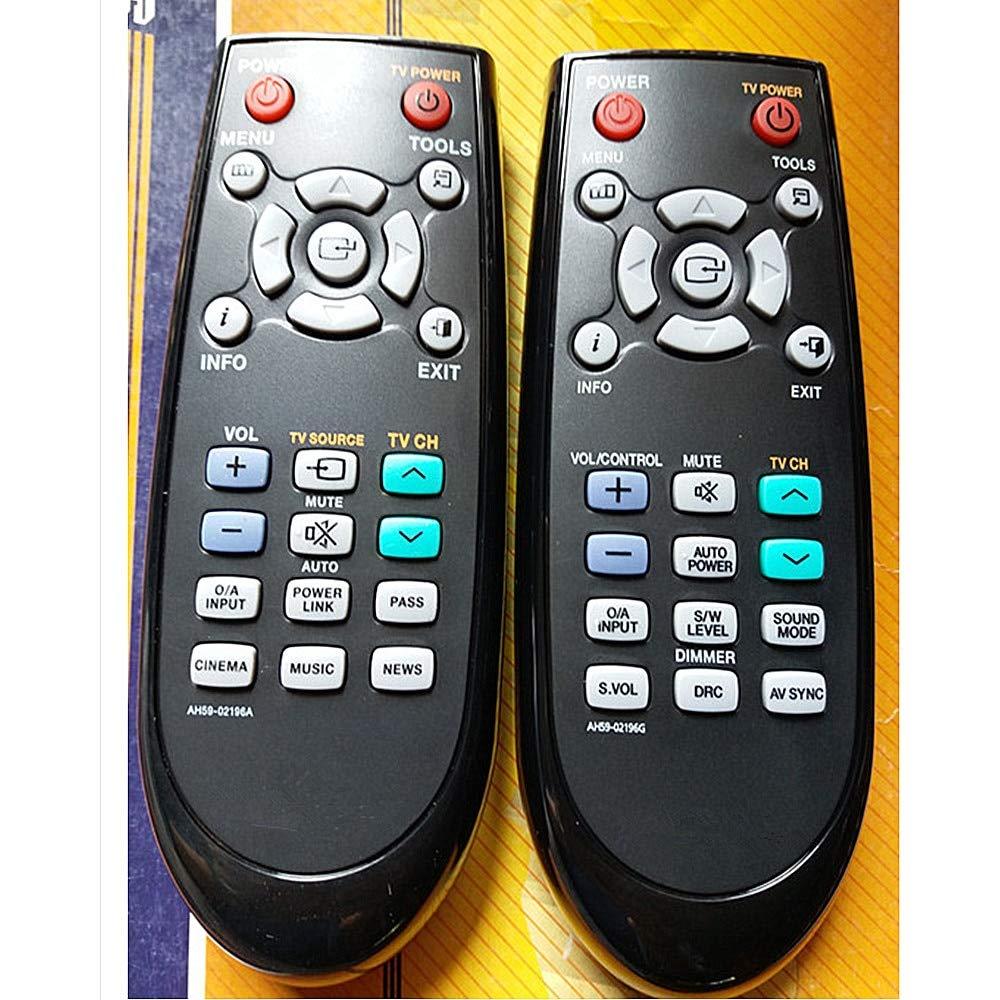 Artshu AH59-02196g Samsung Echo ウォールオーディオ ホームシアター用リモコン   B07GTWSZWG