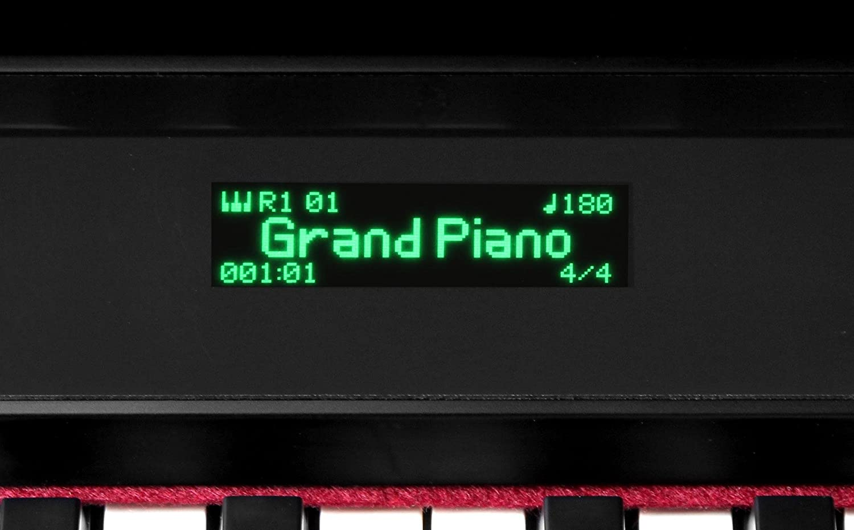 Set Deluxe de piano eléctrónico Classic Cantabile UP-1 SM negro mate: Amazon.es: Instrumentos musicales