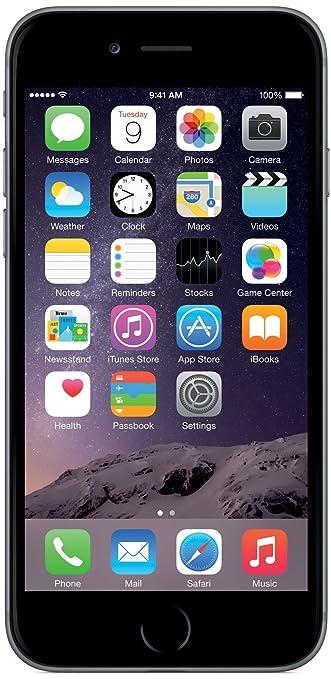 279 opinioni per Apple iPhone 6 64GB Grigio [Italia]