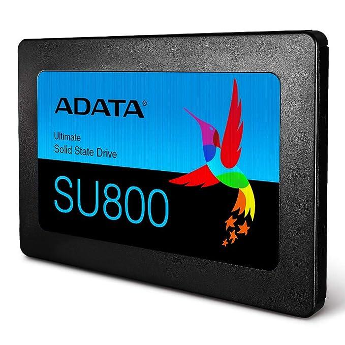 ADATA USA Ultimate Su800 1TB 3D Nand 2 5 Inch SATA III Internal Solid State  Drive (ASU800SS-1TT-C)