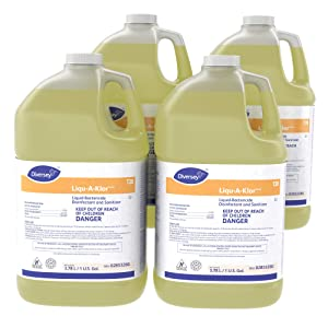 Diversey Suma Liqu-A-Klor Sanitizer (1-Gallon, Case of 4)