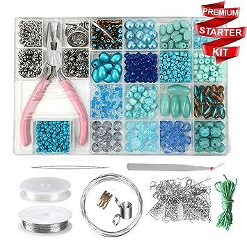 Jewellery Making Kits Beading & Jewellery Kits Add 4 to basket Memory Wire Bracelet Jewellery Making Kits BUY 3 GET 1 FREE