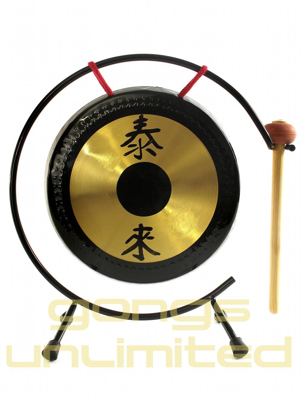 Shiny Table Tai Loi Gongs with Stand