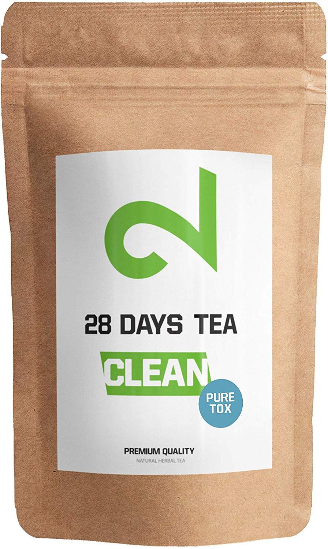 Dual 28 Days Detox Tea Per la Perdita di Peso | T� Dimagrante E Purificante | T� Per La Dieta E Per La Perdita Di Grasso | Integratore Alimentare Naturale | T� A Foglia Sfusa | Made In Germany | 85g
