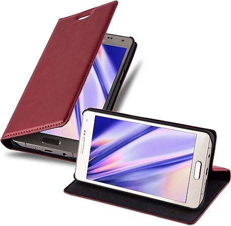 Cadorabo Hülle Für Samsung Galaxy A5 2015 In Apfel Rot Elektronik