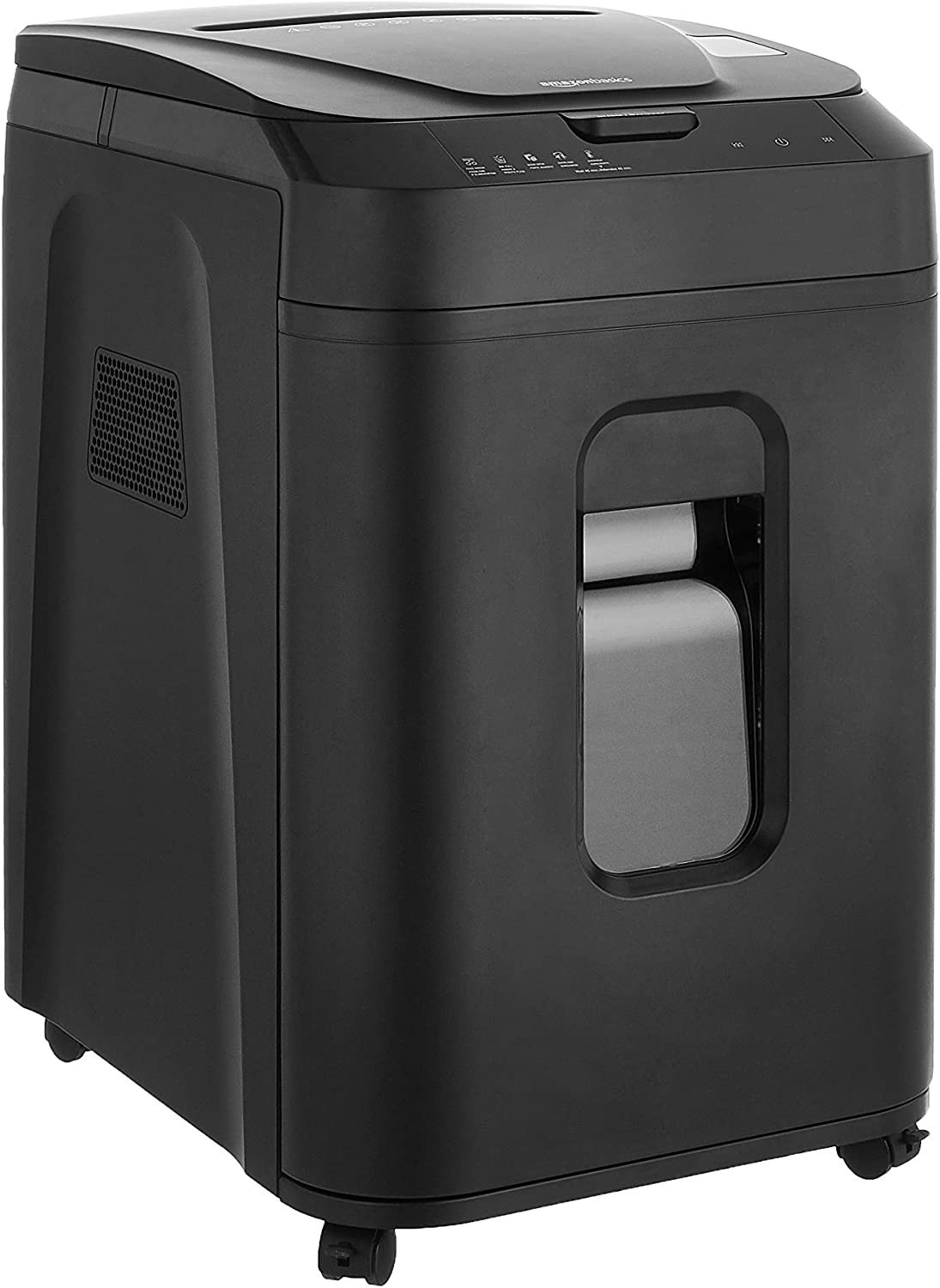 AmazonBasics 150-Sheet Autofeed Micro-Cut Paper Shredder