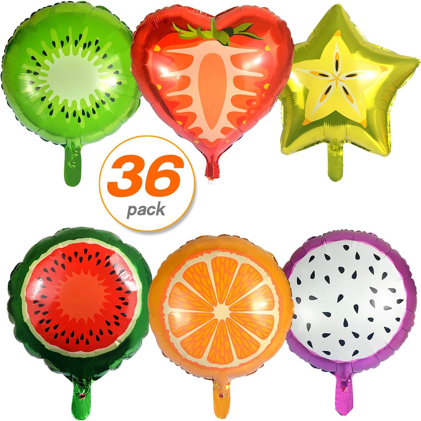 Orange Fruit Shape Foil Balloons Large High Quality birthdays Wedding