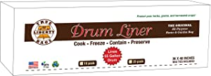 True Liberty Drum Liners - 10 Pack - All Purpose Home and Garden Bags