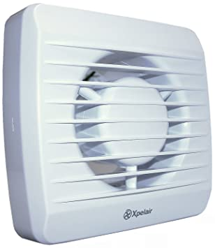 Xpelair Badezimmer-Ventilator mit Timer 10,2 cm 100 mm: Amazon.de ...