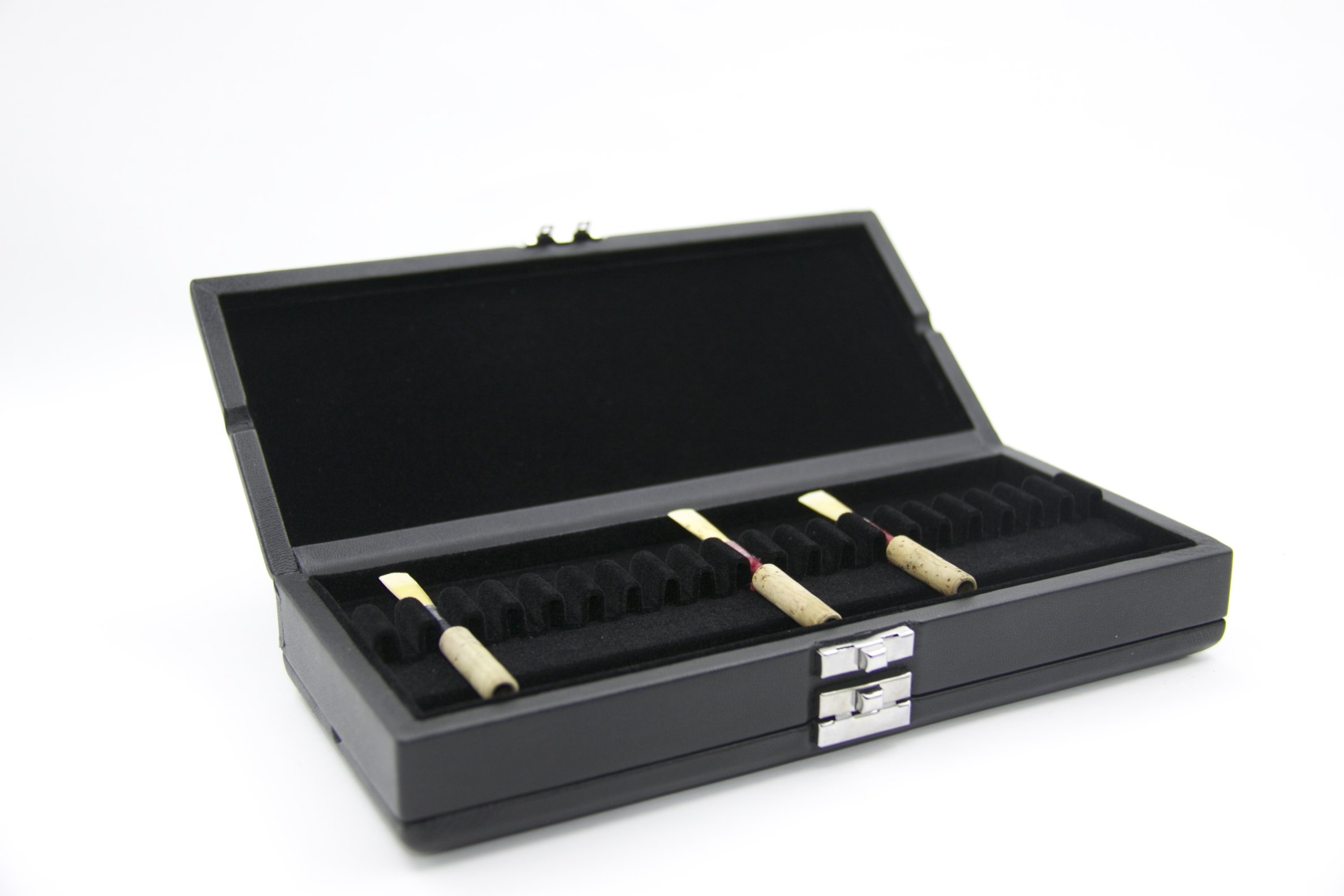 Reed123 Leather Cover Oboe Reed Case for 40 Reeds