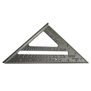 Faithfull FAICSQUICK 180 mm Quick and Easy Aluminium Roofing Square Scale
