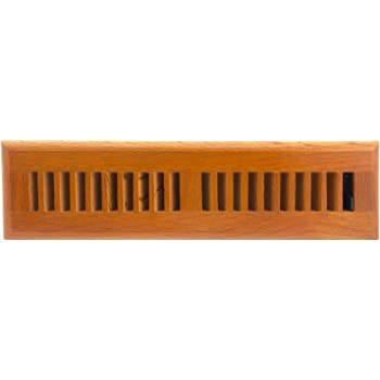 Accord Aofroml210 Floor Register With Red Oak Louvered 2