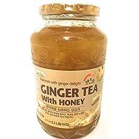 Haioreum Ginger Tea With Honey - Refresh With Korean Herbal Tea Ginger Delight -...