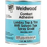 DAP Products Weldwood Landau Top & Trim HHR Solvent Type Spray Grade Contact Adhesive 1 Gal, Natural (070798-002333)