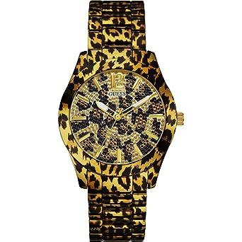 montre guess leopard femme