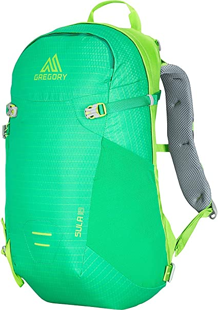 Amazon Com Gregory Mountain Products Sula 18 Liter Women S Daypack Bright Green One Size Sports Outdoors