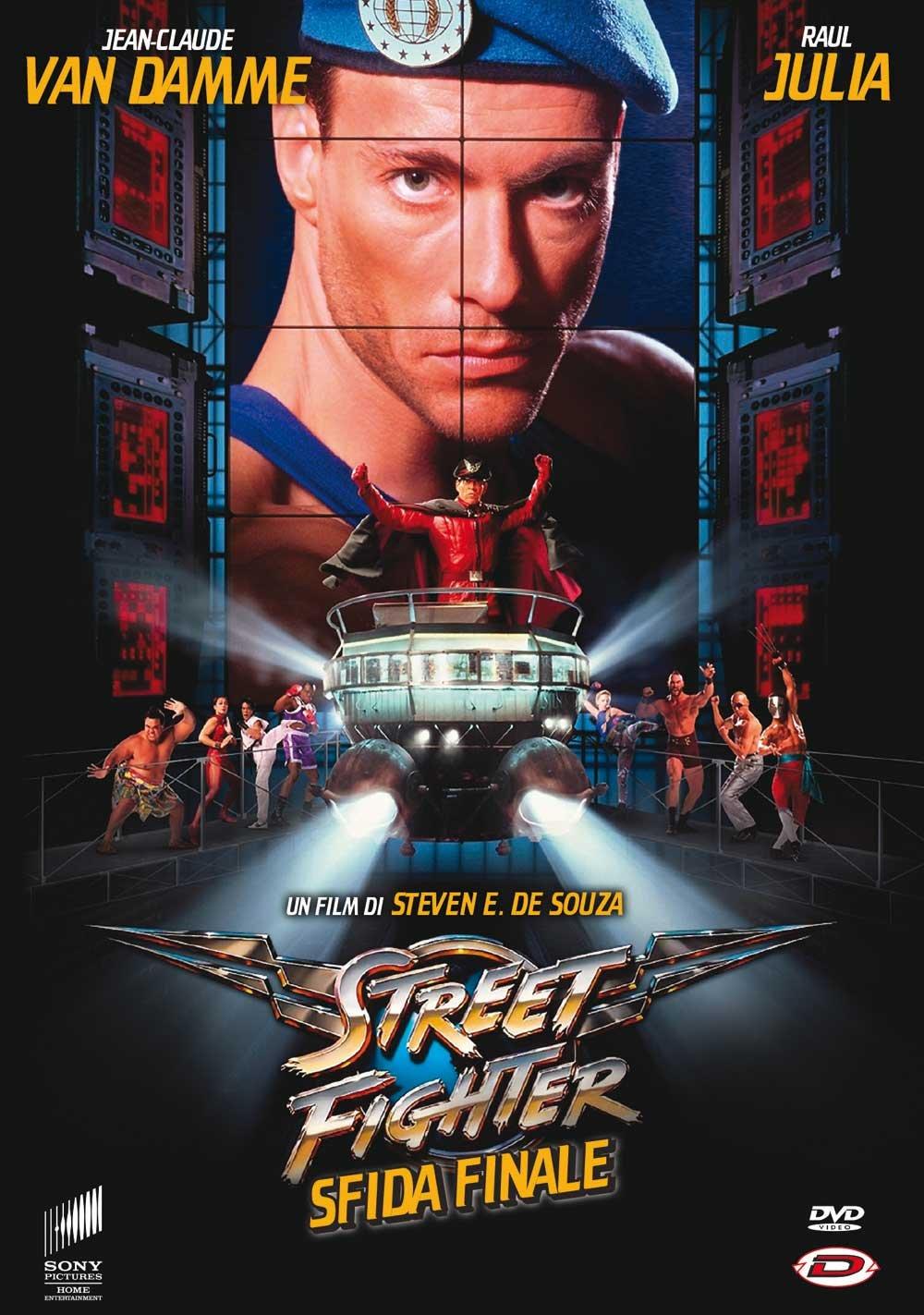 Street Fighter - Sfida Finale  Italia   DVD   Amazon.es  Damian ... da9857b10c0d