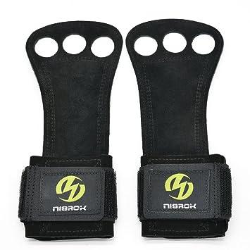 Asas de gimnasia, Crossfit guantes ideal para Pull Ups, Cruz formación, weightlfting,
