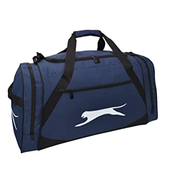 Slazenger Large Holdall Navy Sports Kit Bag Gymbag Carryall W 75 x H 31.5 x  D 35 (cm)  Amazon.co.uk  Luggage 0743b4b4777a3