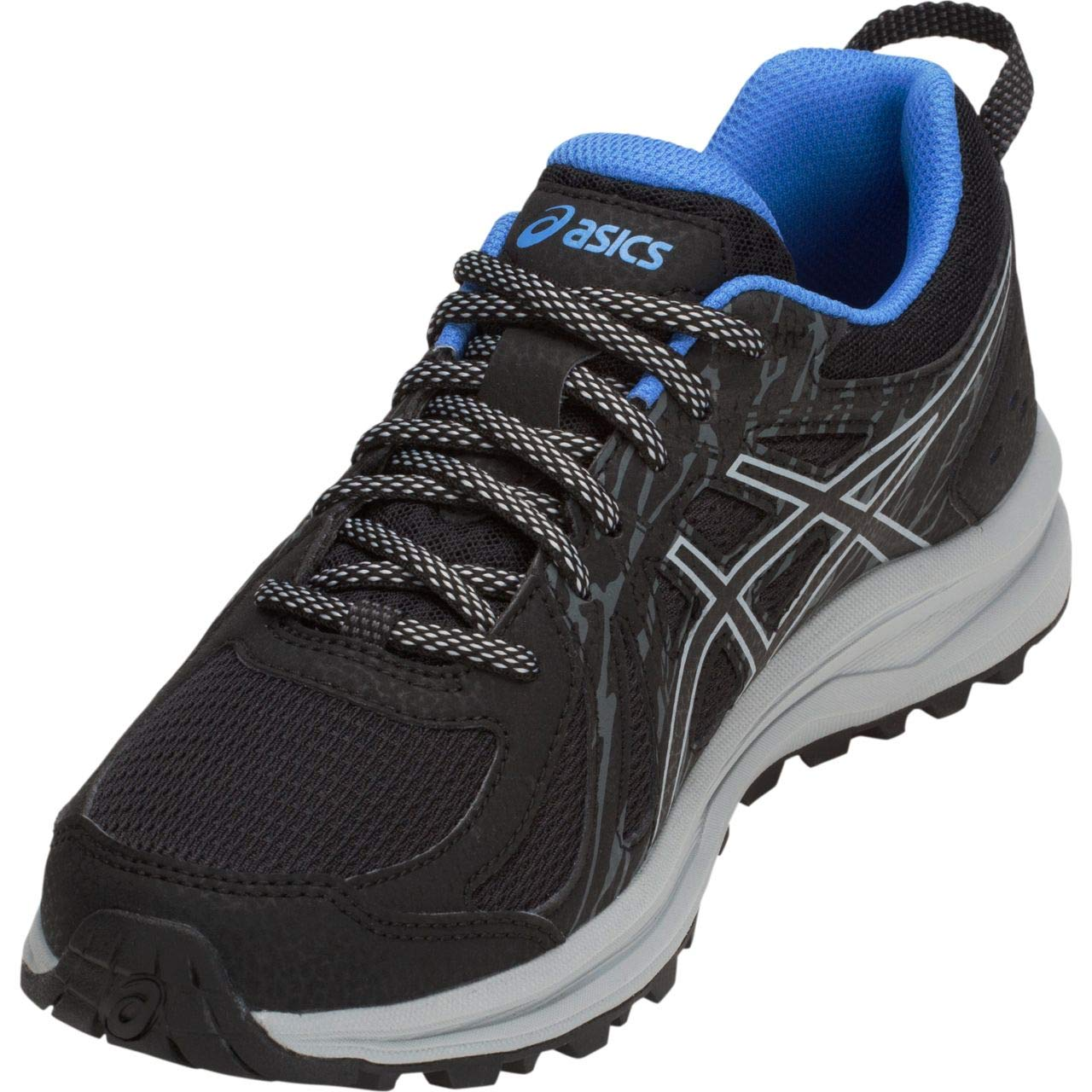 ASICS Frequent Trail Women s Running Shoe, Black Mid Grey, 9 B US