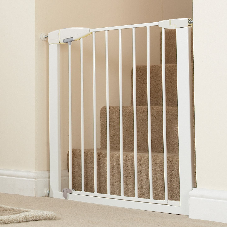 Amazon Munchkin Easy Close Metal Baby Gate White Indoor Safety Gates