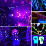 UV LED Bar, Exulight Black Lights with 3W x 6