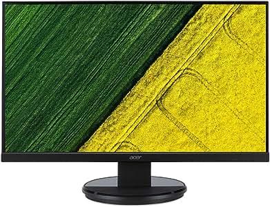 "Acer K272HL, 27"" Full HD Monitor, 1920x1080, VGA, DVI, HDMI, Black"