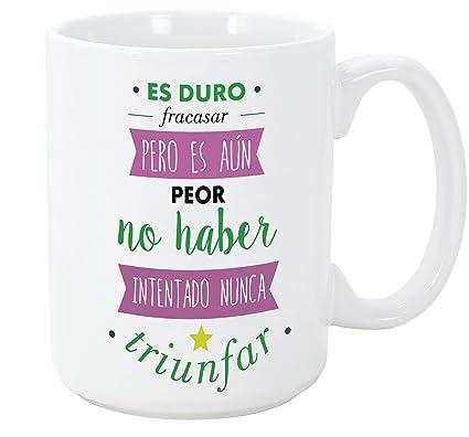 Tazas Desayuno Originales Con Frases Motivadoras La única