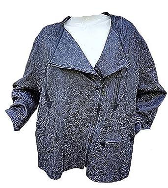 Gilet Blousons 505254565860 Taille Femme Manteaux Grand Veste xw6zw