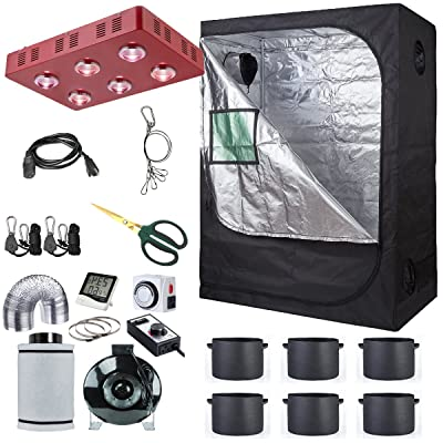 Hydro Plus Grow Tent Complete Package for Hydroponics