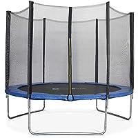 ALICE'S GARDEN - Garden Trampoline - Mars 10ft Trampoline with Safety net - Blue - PRO Quality | EU Standards