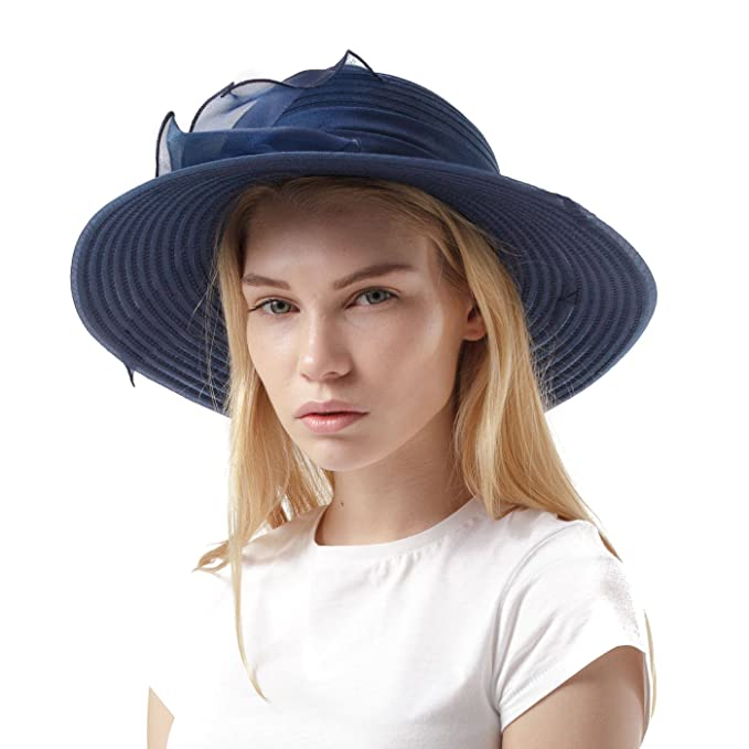 Elegante cappello da cerimonia in stile inglese bb82ed9c3875
