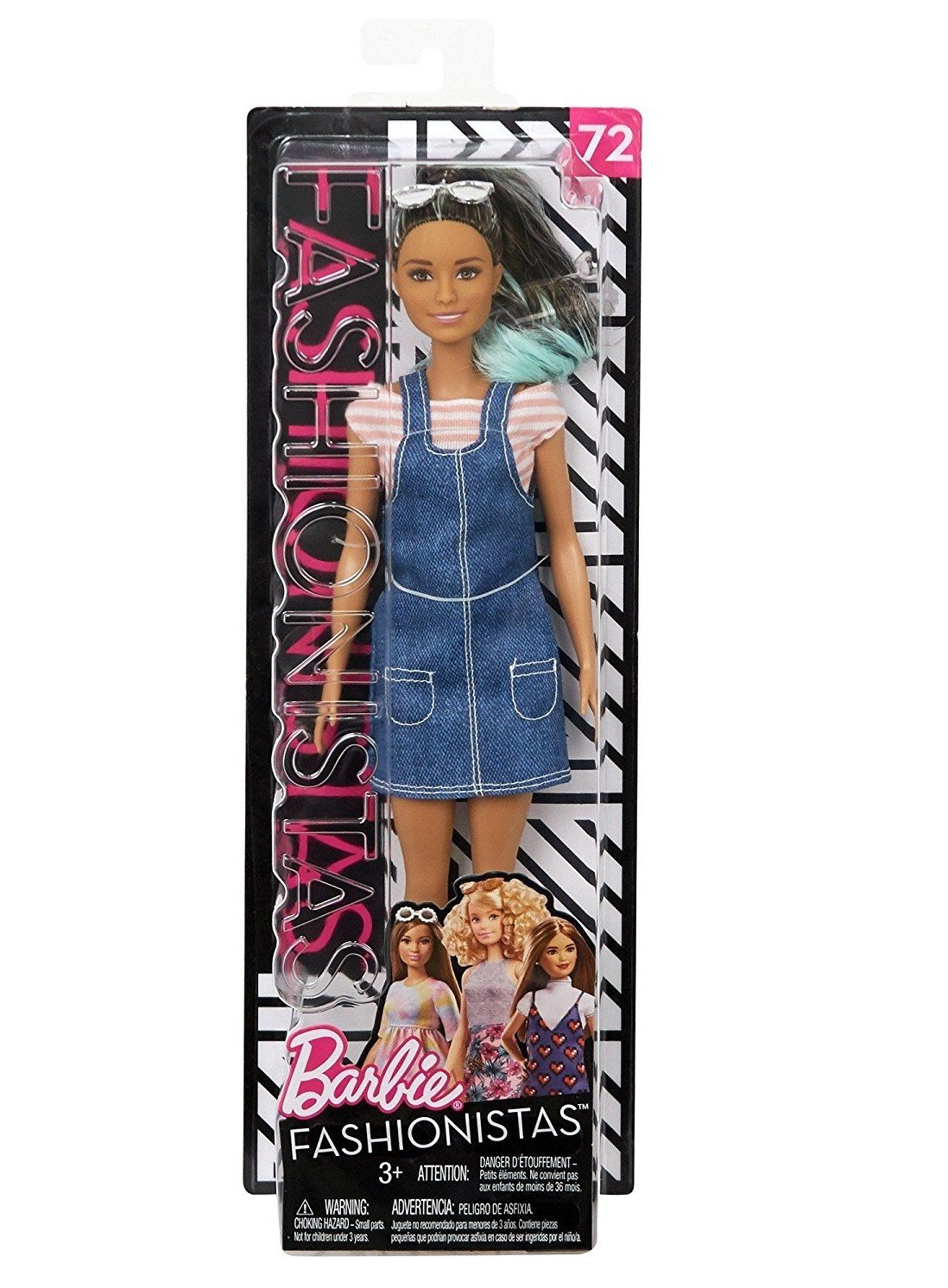 Barbie Overall Awesome Fashion Doll Mattel FJF37