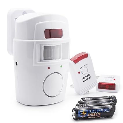 Adapter-Universe Set por infrarrojos alarma sistema de seguridad + 4 x Mignon AA Ni