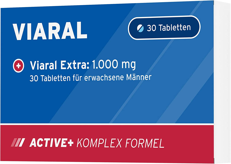 Viaral: para hombres activos de edad avanzada, fabricado en Alemania: Amazon.es: Salud y cuidado personal